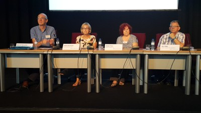 Sabine Kirchmeier at the Panel Discussion